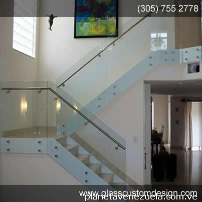 Fabricaci n de escaleras de vidrio y puertas de vidrio - Puertas para escaleras ...