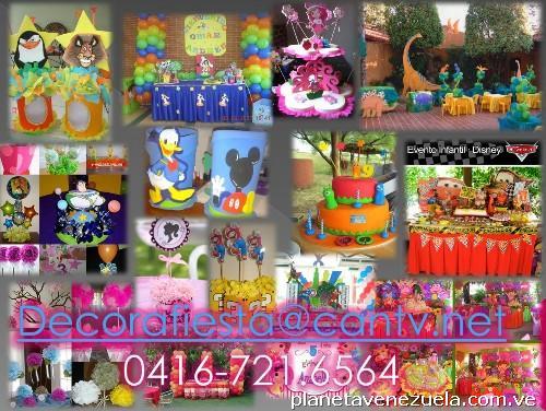 Fotos de decoraci n para fiestas infantiles en caracas - Articulos sobre decoracion ...