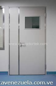 Fotos de puertas blancas de hospital usadas con vidrio for Puertas blancas con vidrio
